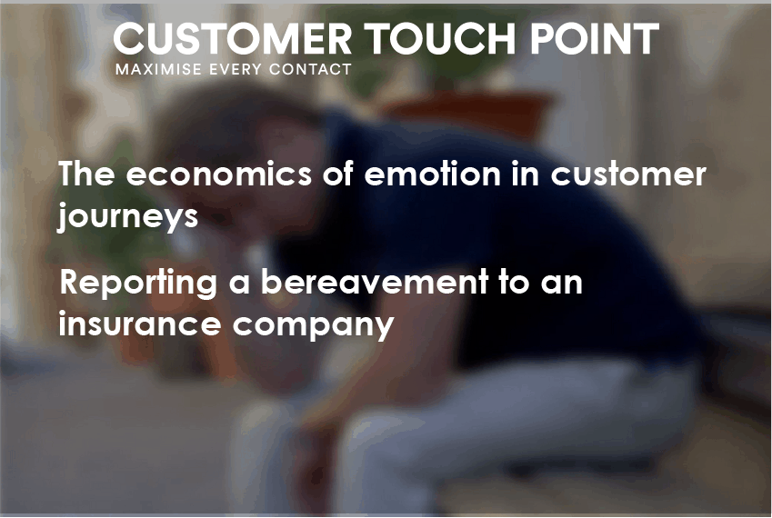 Impact of a negative experience driven by emotion