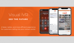Zappix Visual IVR Partnership with Customer Touch Point